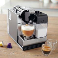 Nespresso® & De'Longhi® Lattissima Plus, Silver | Sur La Table