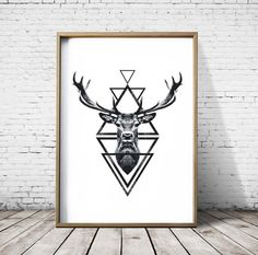 Hey, I found this really awesome Etsy listing at https://www.etsy.com/listing/258052406/stag-head-deer-head-wall-art-print-deer