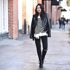 Basic is as basic does. #stripes #ootd