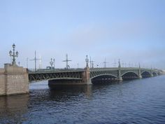 Троицкий мост.Нева.