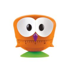 Owl Timer Orange by e-my