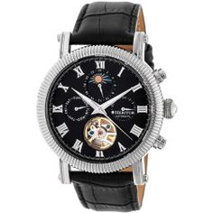 Winston Semi-Skeleton Dial Watch, 45mm