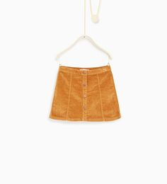 Image 1 of Moleskin skirt from Zara