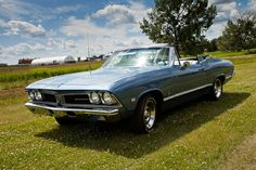 1966-68 Pontiac Beaumont convertible (GM) (Canada only) #Blue