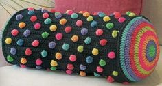 Almohadon Caramelo Fundas Tejidas Al Crochet - $ 350,00 en MercadoLibre