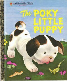The Poky Little Puppy Little Golden Book Gustaf Tenggren Janette Sebring Lowery | eBay