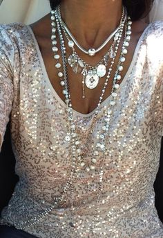 LOVE this look!  I have the Enchanted necklace.  I need all the others!  LOL