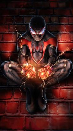 Miles Spiderman, Miles Morales Spiderman, Black Spiderman, Spiderman Spider, Amazing Spiderman, Spider Man 2, Deadpool Wallpaper, Avengers Wallpaper, Superhero Wallpaper Iphone