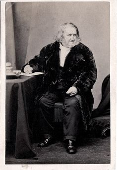 Sir James Young Simpson, discoverer of chloroform's use as an anesthetic, 1865