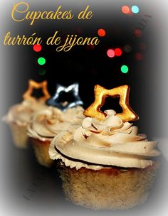 CUPCAKES Y BUTTERCREAM DE TURRÓN DE JIJONA Cake Pops, Cupcakes, White Christmas, Muffins, Cooking, Desserts, Blog, Holiday Foods, Breakfast
