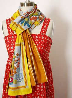 square.dance.scarf by annamariahorner, via Flickr