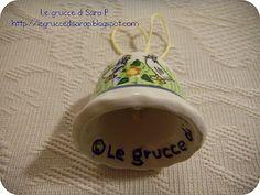 Campanella decorata dalle grucce di Sara P.