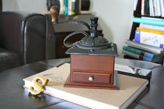Antique reproduction Coffee grinders by jVintageDecor on Etsy, $22.00