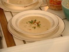 South Carolina She-Crab Soup recipe from Tyler Florence via Food Network