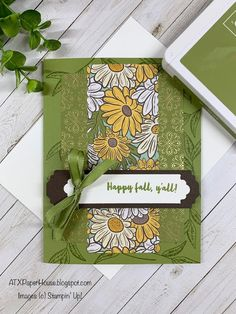 ATXPaperHouse: Card: Ornate Garden for Challenges