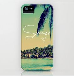 Cute iPhone case that is meant for the summer!~Narine+Leah!