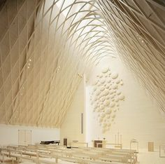 Amazing and serene church in Finland