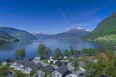 Kinsarvik Camping am Hardangerfjord in Norwegen - Familiencamping