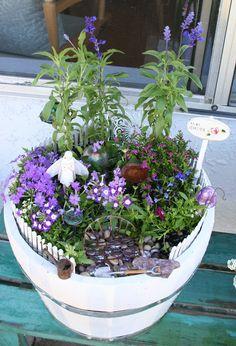 My Fairy Garden | Flickr - Photo Sharing!