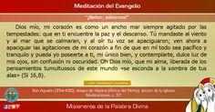 """MISIONEROS DE LA PALABRA DIVINA: MEDITACIÓN DEL EVANGELIO - """"Señor, sálvanos"""""""