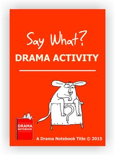 This is a fun, printable drama activity also known as 'Scenes from a Hat.'  It works best for older or advanced students.