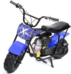 XtremepowerUS Pro-Series 80cc Off Road Dirt Bike 4-Stroke Suitable for Both Kids and Adults - 4-stroke air-cooled engine surpasses virtually any other mini bike on the market. This deluxe-sized mini bike effortlessly accommodates kids, teens and adults up to 165 lbs. EPA Approved - EPA approved, it means the kid's dirt bike will not cause unreasonable adverse effects in users' health under the instruction manual, and it's environmentally friendly, while it has low noise, No Need for Mixing…