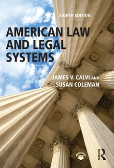 """Read """"American Law and Legal Systems"""" by James V. Calvi available from Rakuten Kobo. American Law and Legal Systems examines the philosophy of law within a political, social, and economic framework with gr. Free Books Online, Free Pdf Books, Reading Online, Free Ebooks, Environmental Law, Stefan Zweig, Law Books, Legal System, Learning Objectives"""
