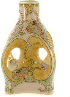 Rare Gouda Pottery Vase c. 1902