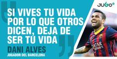 La joya filosófica que nos regaló Dani Alves del FC Barcelona
