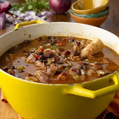 Cuban Black Bean Stew: additions (oj and orange zest in to cook. limes on side) Crockpot. Do 1 pound dried beans (soaked overnight) 3-4 cups liquid total.