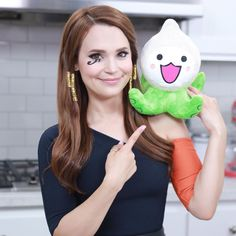 Ro as 'Pharah' from 'Overwatch' with a Pachimari Rosanna Pansino Nerdy Nummies, There Goes My Hero, Overwatch, Youtubers, Nice Dresses, Dress Up, Cosplay, Celebrities, Instagram Posts