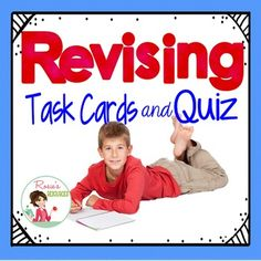 The focus of these task cards is ALL REVISING.  Test prep can be a turn-off for…
