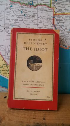 Vintage 1950s Edition of The Idiot by Fyodor by CollectorsAgency