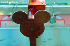Totally love the details! This is the handle on a cart at Disneyland!!  #Disneyland #MMT #FamilyVacationFun