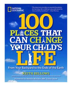 Look at this #zulilyfind! 100 Places That Can Change Your Child's Life Paperback #zulilyfinds