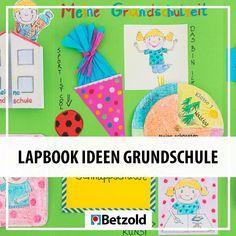 Lapbooks sind faszinierend, spannend, informativ und manchmal auch  lustig. Materialien und Vorlagen für eure  eigenen Lapbooks findet ihr unter www.betzold.com.