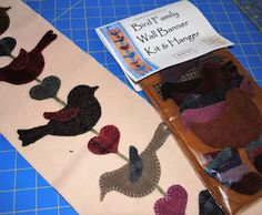 Wool applique tutorial and kit Christine Baker - Fairfield Road Designs & Christine's Thrive Life