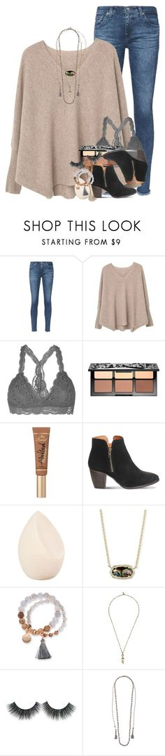 """""""she told me that she loved me by the water fountain."""" by ellaswiftie13 ❤ liked on Polyvore featuring AG Adriano Goldschmied, MANGO, Youmita, Sephora Collection, Too Faced Cosmetics, Office, Christian Dior, Kendra Scott, Kim Rogers and Isabel Marant"""