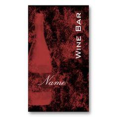 Wine Bar Business Card