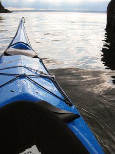 Sea kayaking - Puget Sound