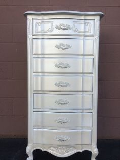 Vintage French Provincial Lingerie Chest by ProvincialbutFrench, $900.00