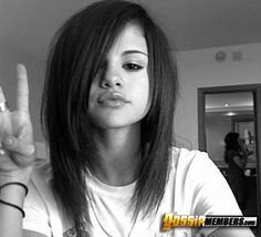 Selena Gomez hair,  This was my favorite haircut ever, but it was a bit high maintenance.