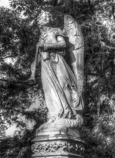 Holly Cemetery Little Rock, AR Photograph by Rhonda Burton Little Rock, Paranormal, Arkansas, Cemetery, Photograph, Community, Statue, Art, Photography