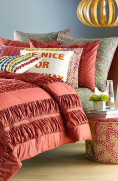 Bedroom inspiration - mix your patterns