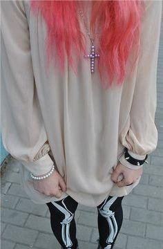 Tumblr, pastel goth