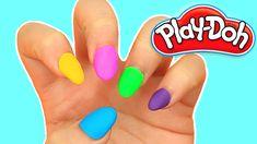 DIY Play Doh Nails! IT REALLY WORKS!   Karina Garcia