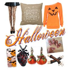 """""""Halloween Things"""" by mydreamsarenightmares on Polyvore featuring art"""