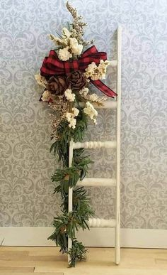 Christmas Wood Crafts, Country Christmas Decorations, Christmas Porch, Outdoor Christmas, Rustic Christmas, Xmas Decorations, Christmas Wreaths, Christmas Ornaments, Holiday Decorating