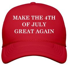 Party Like 1776 4th of July Festivities Unisex Trucker Fit Casual Printed Snapback Hat