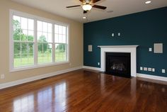 Interior: Top Notch Blue Living Room Decoration Using Blue Accent ...